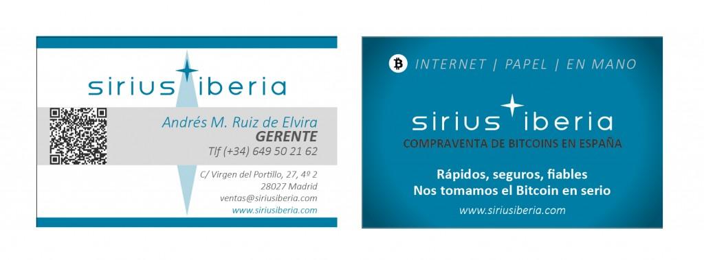 Sirius Iberia - Tarjetas (def)