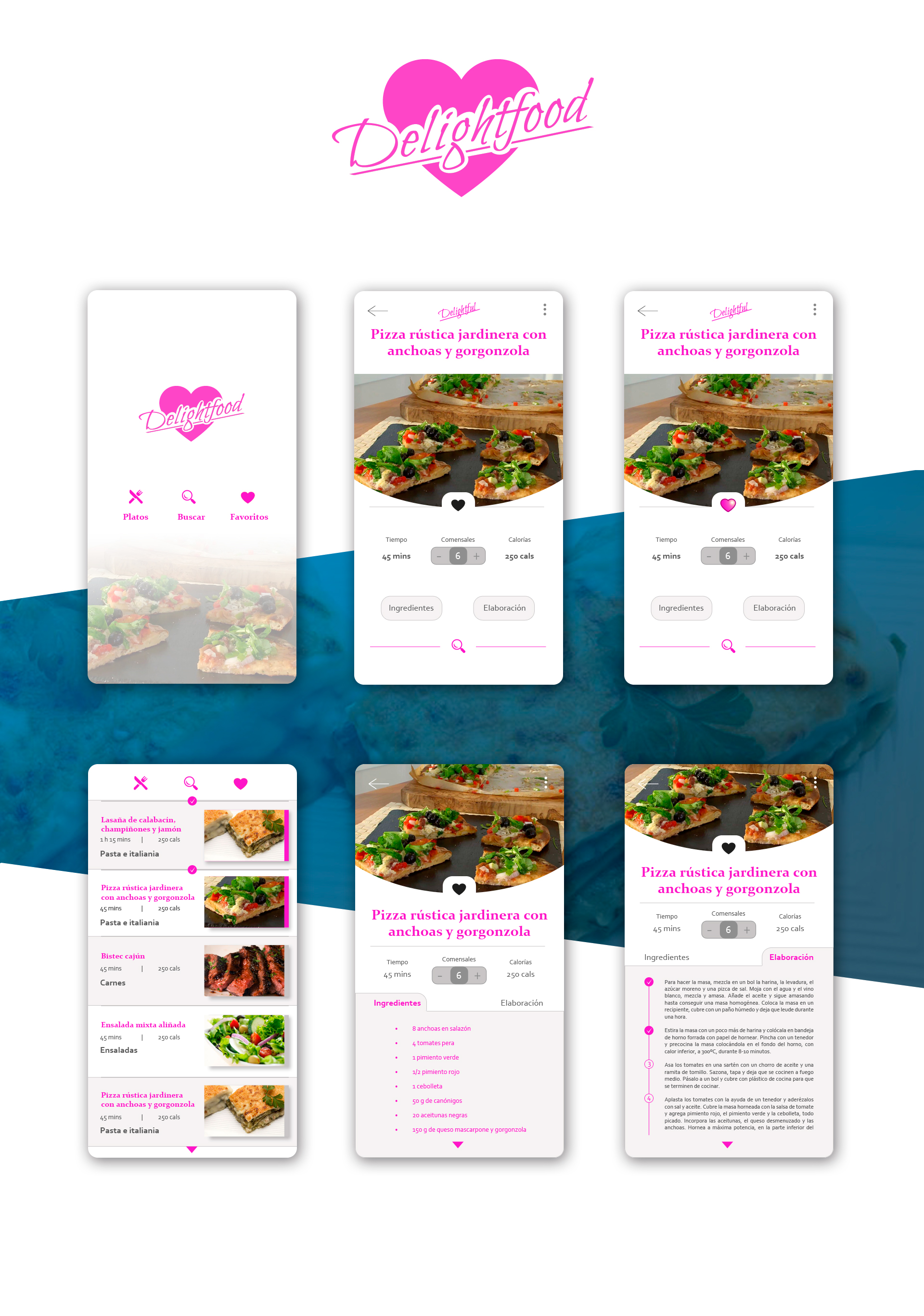 DELIGHTFOOD (CULINARY APP)