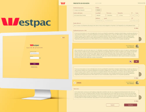 Westpac bank (Key projects evaluation app)